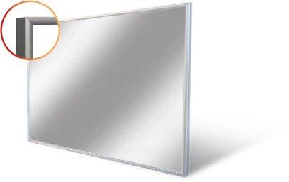 Verwarmde Spiegel Badkamer : Quasar led verlichte badkamerspiegel cm
